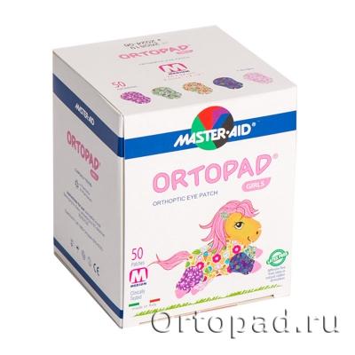 Глазные окклюдеры и пластыри Ortopad Girls Classic