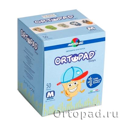 Глазные окклюдеры и пластыри Ortopad Boys Large Scale Design (New)