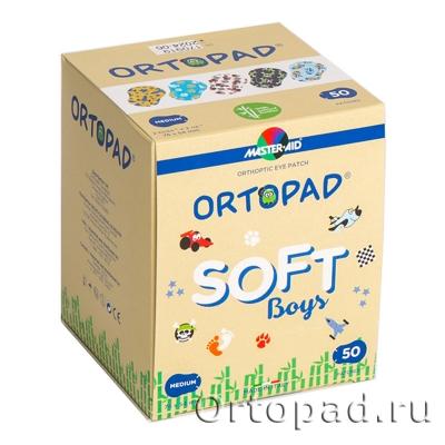 Глазные окклюдеры и пластыри Ortopad Boys Soft (New)