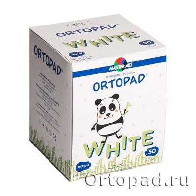 Глазные окклюдеры и пластыри Ortopad White (New)